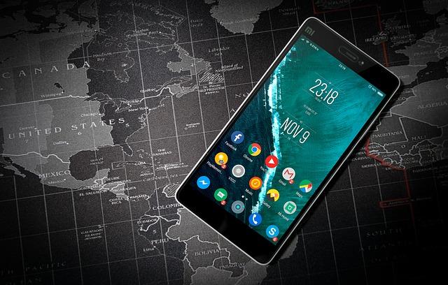 携帯電話とパソコン