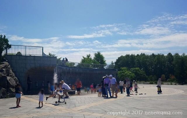 川下公園の噴水