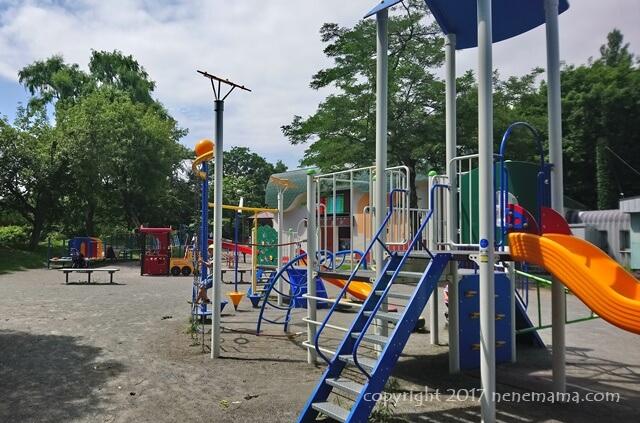 中島公園の遊具