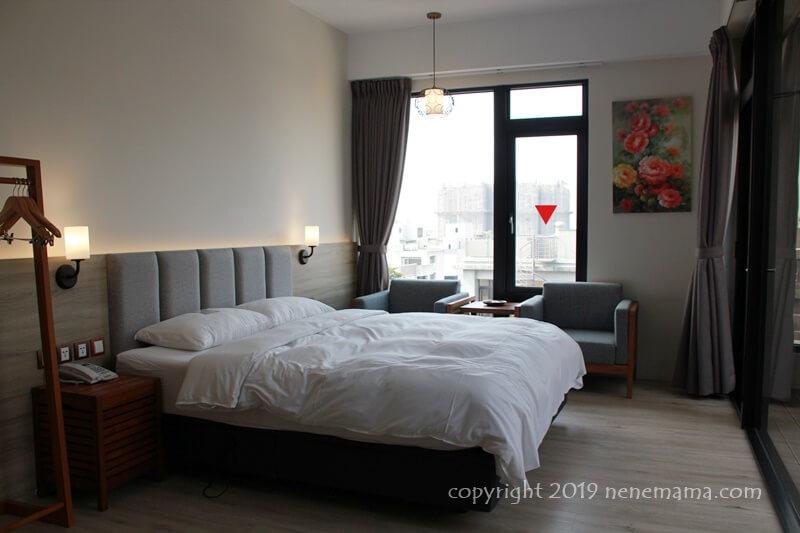 Hotel Z メインベッド