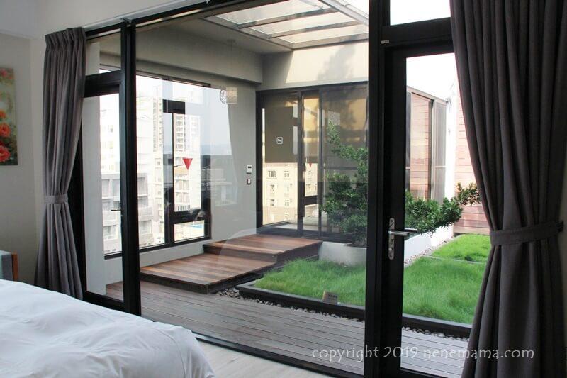 Hotel Z 中庭
