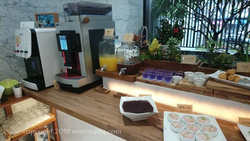 Hotel Z の朝食デザート
